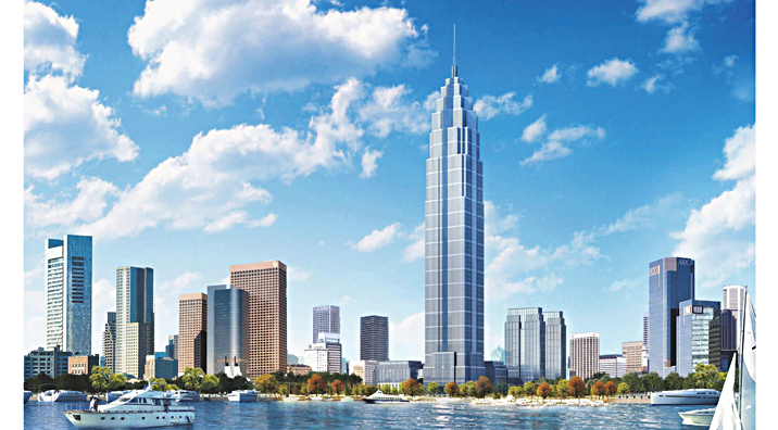 绿地中心建筑设计